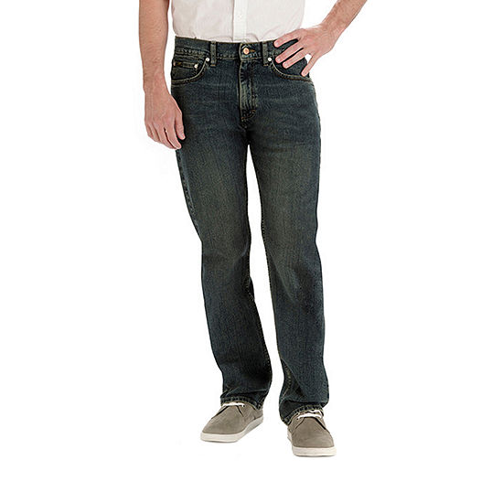 Lee® Men's Relaxed Fit Straight Leg Jeans – Big and Tall