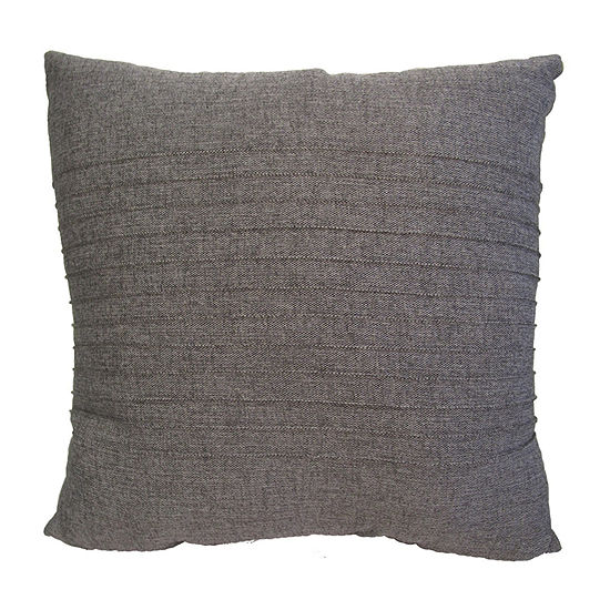 Home Fashions International Avery Pintuck Square Throw Pillow