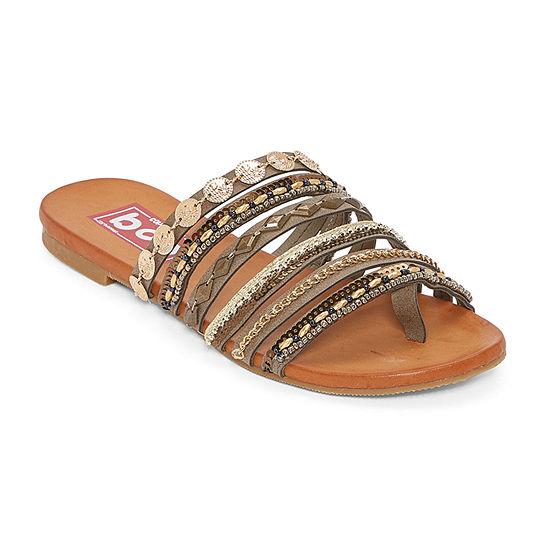 Pop Womens Damini Flat Sandals