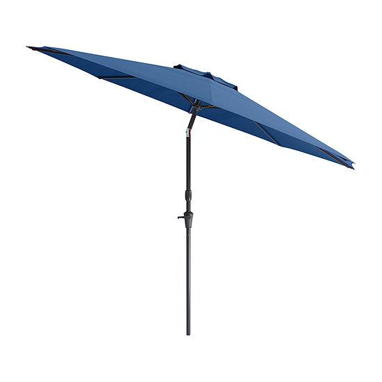 Wind Resistant Titlting Patio Umbrella