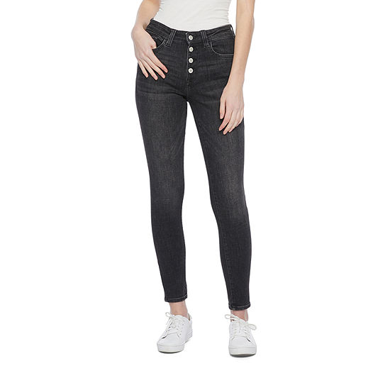 Arizona - Juniors Womens High Rise Skinny Fit Jean
