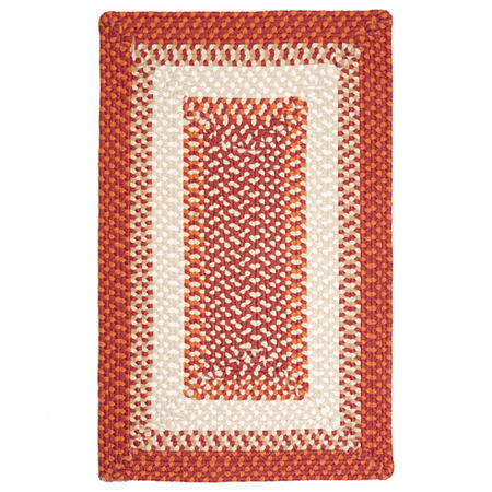 Colonial Mills Montego Reversible Braided Indoor/Outdoor Rectangular Rug, One Size , Brown