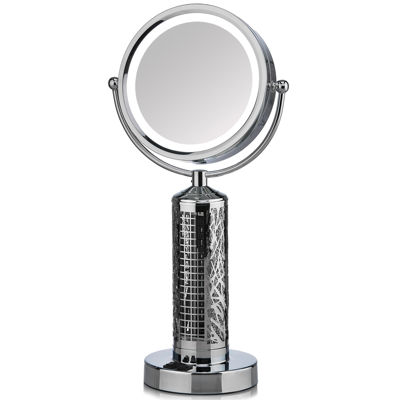 FANITY™ LED All-in-One LED Vanity Mirror & Elegant Tower Fan