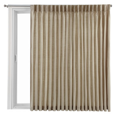 Charming Royal Velvet® Supreme Pinch Pleat/Back Tab Thermal Patio Door Panel