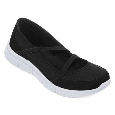 St. John's Bay® Orla Elastic Strap Slip-On Shoes
