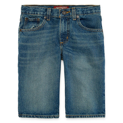 Arizona 5-Pocket Denim Shorts - Boys 8-20, Slim and Husky