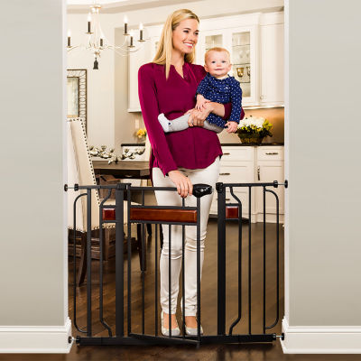 Regalo Home Accents Metal Walk-Through Safety Gate