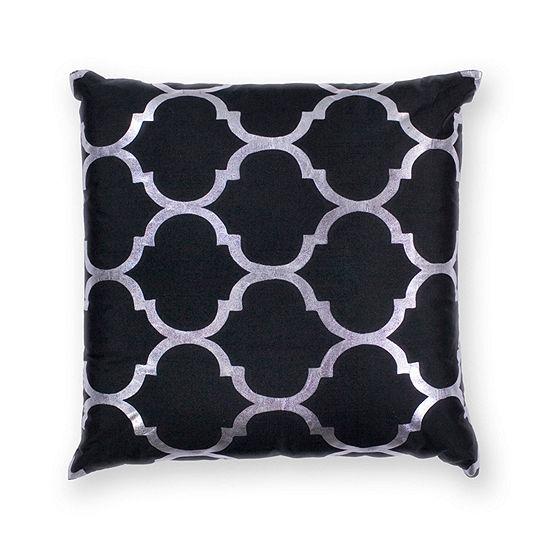 Kas Trellis Square Throw Pillow