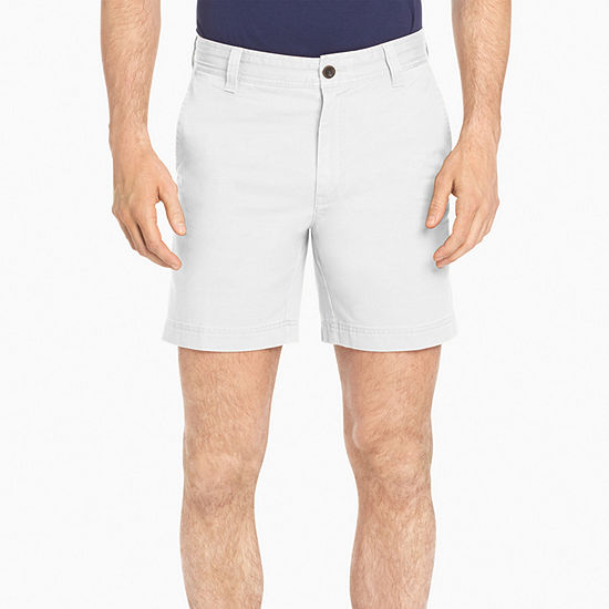 709e0de1b53c IZOD Saltwater Stretch 7 Inch Flat Front Chino Shorts JCPenney
