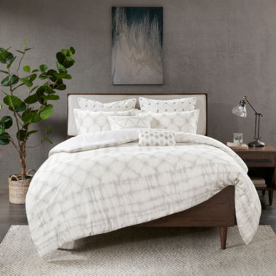 INK+IVY Fiji 3-pc. Geometric Duvet Cover Set