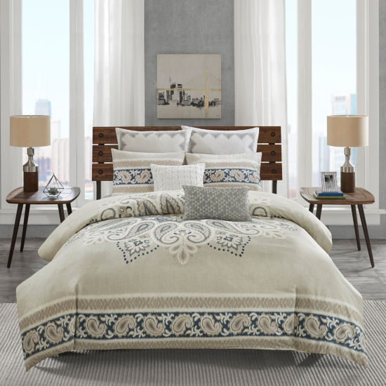 INK+IVY Sky 3-pc. Duvet Cover Set