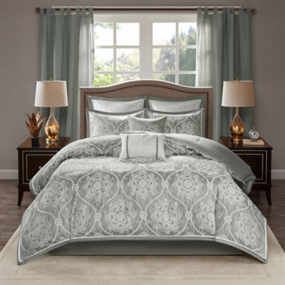 Madison Park Waylon Jacquard 8-pc. Comforter Set