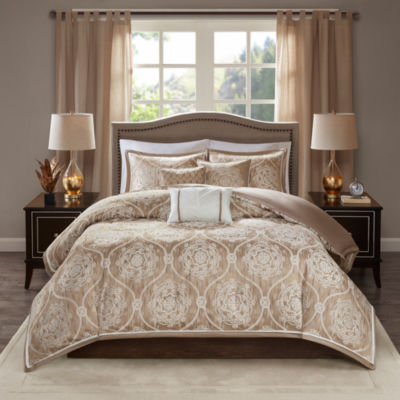 Madison Park Waylon Jacquard 6-pc. Duvet Cover Set