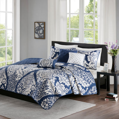 Madison Park Marcella Cotton 6-pc. Coverlet Set