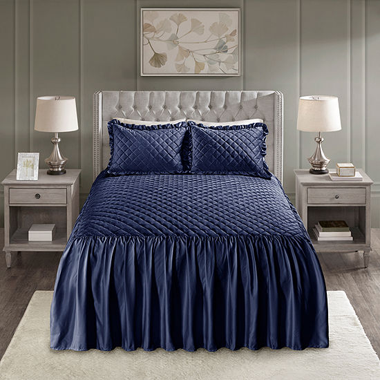 Madison Park 3-pc Cosette Bedspread Set