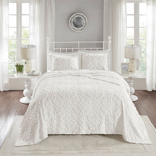 Madison Park Sarah 3-pc. Bedspread Set
