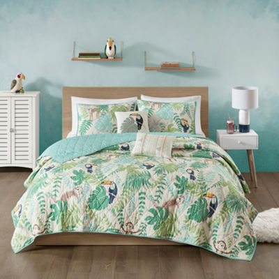 Urban Habitat Kids Jungle Book Coverlet Set