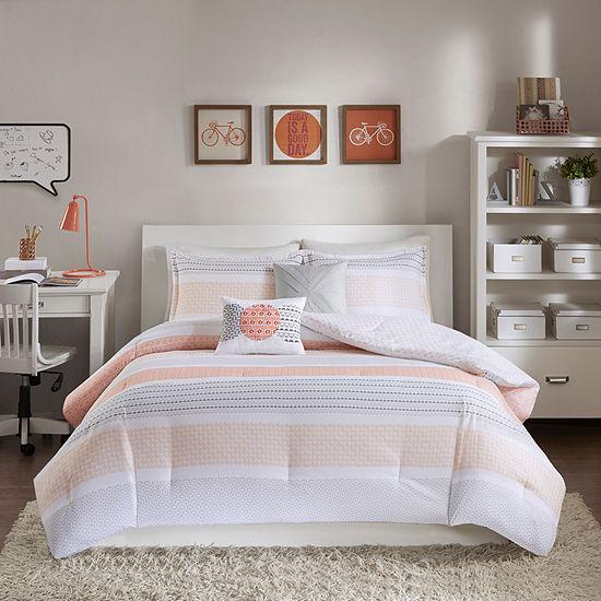 Intelligent Design Lou Reversible Comforter Set