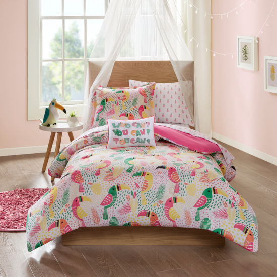 Mi Zone Kids You Can Toucan Complete Bed With Sheets Set