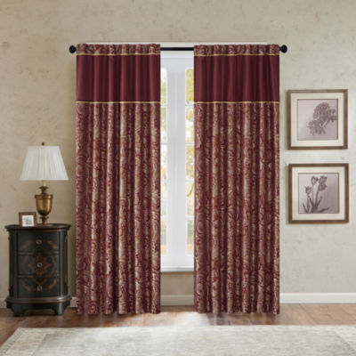 Madison Park Churchill Back-Tab Curtain Panel Pair