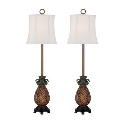 Seahaven Pineapple Table Lamp Set