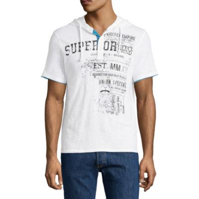 i jeans by Buffalo Short Sleeve Hoodie