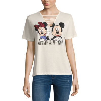 Mickey & Minnie Mouse Tee - Juniors