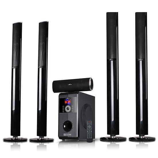 beFree Sound 5.1 Channel Surround Sound Bluetooth Speaker System