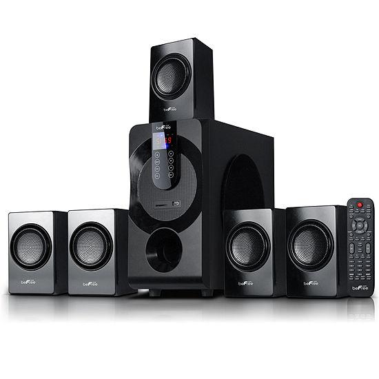 Befree Sound 51 Channel Surround Sound Bluetooth Speaker System In Black