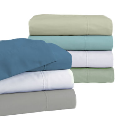 Katherine Collection 4 Piece Solid Microfiber Sheet Set