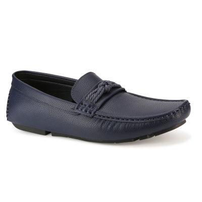 X-Ray Mens Kangto Round Toe Slip-on Loafers