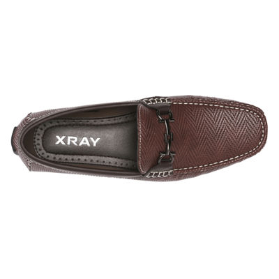 X-Ray Mens Biarchedi Loafers Slip-on Round Toe