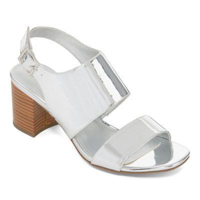 Worthington Bobby Womens Heeled Sandals