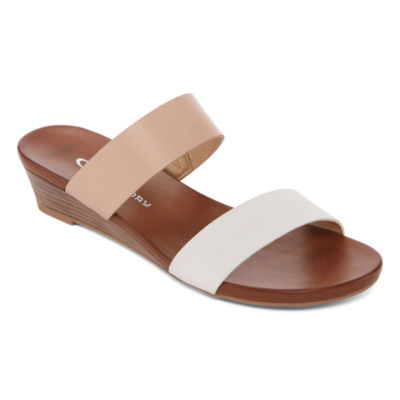CL by Laundry Admired Womens Wedge Sandals