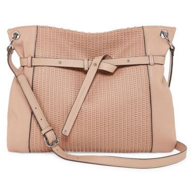 Perlina Shine Ii Leather Crossbody Bag