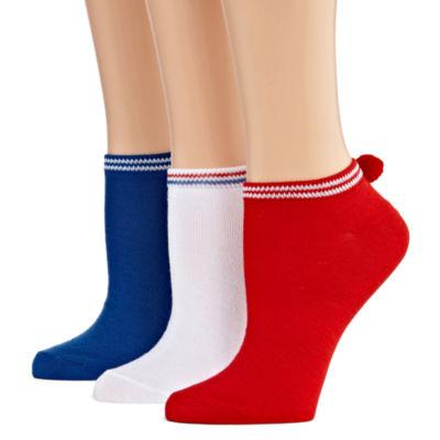 Mixit 3 Pair Low Cut Socks - Womens