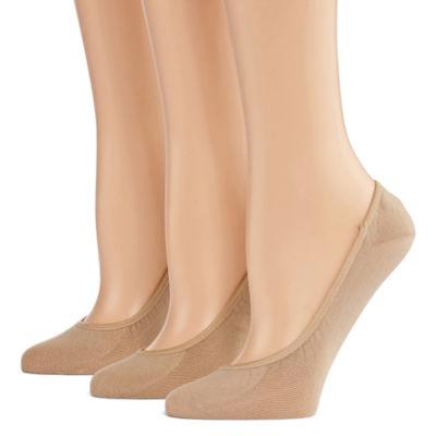 Peds 2 Pair Knit Liner Socks - Womens