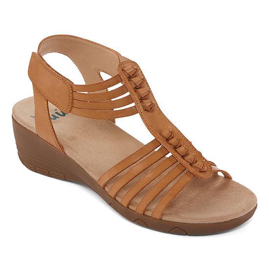 b3c0306faa2 Yuu Womens Handey Strap Sandals - JCPenney