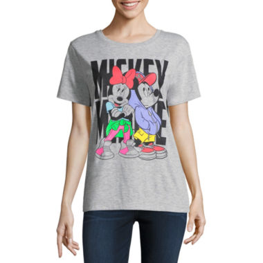 Mickey and Minnie Tee - Juniors