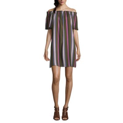 a.n.a Off the Shoulder Shift Dress - Tall