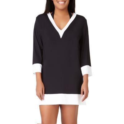 Liz Claiborne Knit Swimsuit Cover-Up Dress