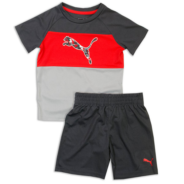 Puma Puma Kids Apparel 2-pc. Short Set Boys