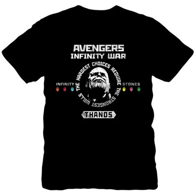 Thanos Infinity War Lord Graphic Tee