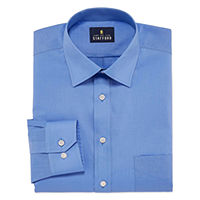 Deals on Stafford Mens Regular-Fit Easy-Care Stretch Dress Shirt
