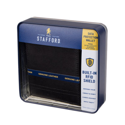 Stafford Mens Slim Fold Wallet