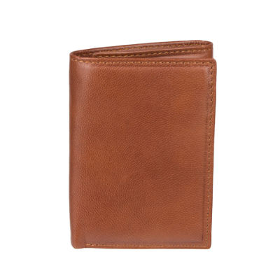 Stafford RFID Trifold Wallet with Zipper