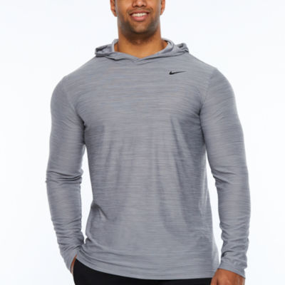 Nike Long Sleeve Knit Hoodie-Big and Tall