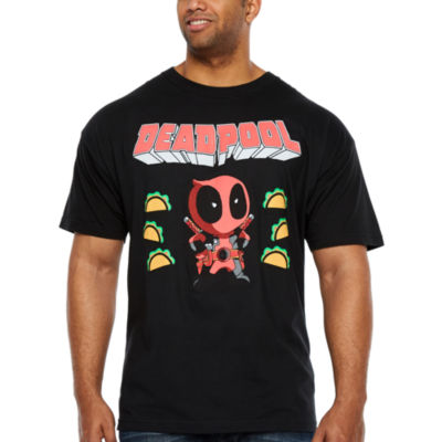 Deadpool And Friends Short Sleeve Graphic T-Shirt-Big and Tall