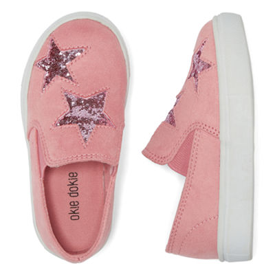 Okie Dokie Lil Cosmic Girls Slip-On Shoes - Toddler
