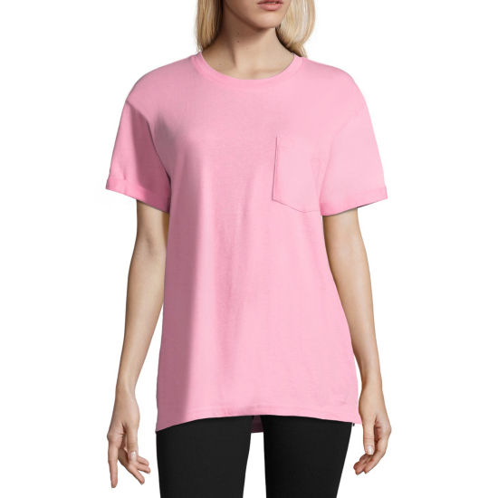 "Flirtitude ""Teenage Dream"" Oversized Tee - Juniors"